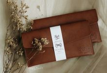 Dhini & Gerry Simple Wallet by Yuo And Leather