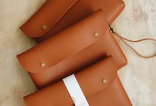 Dian Fikri Simple Pouch by Yuo And Leather