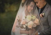 Pre Wedding Photoshoot Winnie & Jia by NK makeup-hair by Novi