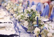 Wedding Dinner for Dessy & Michael by Modeste Design