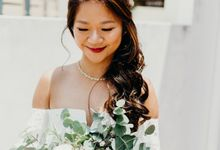 Actual Day Wedding for Ervin and Dori by By Priscilla Er / Makeup Artist