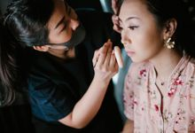 Bridesmaid Makeup of Suyanto & Novita by Brushed by Valentine