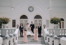 Wedding Of Soepartono & Francesca by All Occasions Wedding Planner