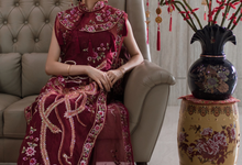 红旗袍 by Sofiani Atelier