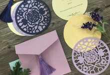 Chinese Traditional Die-cut with Chinese tassel by Soulmade Design