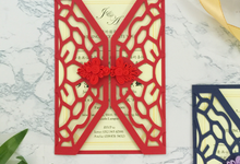 Intricate Die-cut Invitation Card (Chinese Knot) by Soulmade Design