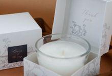 Wedding Souvenir - Candle Spring Theme by Kanoo Paper & Gift