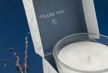Wedding Souvenir - Candle by Kanoo Paper & Gift