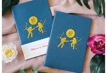 Foil Notebook Souvenir by Soraksorai