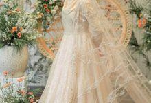 Sparkling Gold Sahaja Series by LAKSMI - Kebaya Muslimah & Islamic Bride