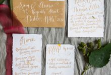 Australiana by Floralovely Calligraphy