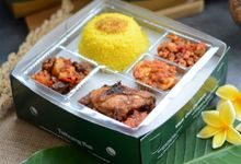 Nasi Kotak / Meal Box for Lunch or Dinner by Taliwang Bali