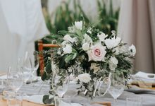 Industrial Grey Bohemian by Sweetbella Florist & Decoration