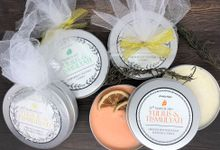 Scented Candle Package by The Soap Project Indonesia