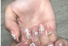 Wedding Nail Art by SS Wedding