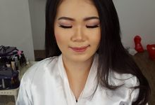 Wedding Makeup Trial For Ms. Yuli by Chesara Makeup