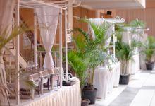 Dekorasi Area Food Stall by Bayam Catering Service Bandung