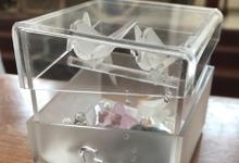 Acrylic ring box by starlight.pro