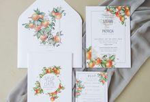 Stefan & Patricia bali Invitations by Meltiq Invitation