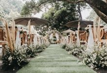 The Wedding of Stephan & Gabby by Elior Design