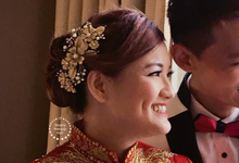 Malaysian Chin | Traditional Tea Ceremony Qun Kua by Stephy Ng Makeup and Hair
