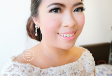 Indonesian RS | Royal Wedding church by Stephy Ng Makeup and Hair