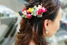 Caihong | Actual Day by Stephy Ng Makeup and Hair