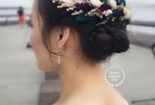 China LeeLee Bridal photoshoot by Stephy Ng Makeup and Hair