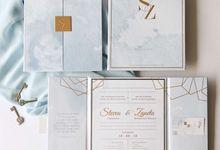 Steven & Zanetta by Meltiq Invitation