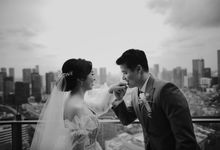 Steven & Stefany Wedding at Terrarium Rooftop by The Imperium