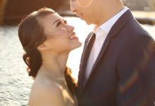 The Engagement Session of Steven & Eliza by Lavene Pictures