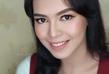 Self Makeup Class mrs. Dara Kartika by StevOrlando.makeup