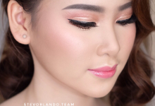 Soft Glow Wedding Makeup Looks by Stevanie Orlando by StevOrlando.makeup