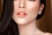 Wedding Thailand Makeup Looks for Ms. Joan by StevOrlando.makeup