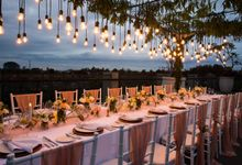 Intimate Dinner Reception at Sthala Chapel Foyer by Sthala, A Tribute Portfolio Ubud Bali by Marriott International