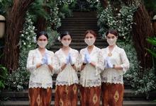Kehadiran Jokowi @Akad nikah KK ipar Kahiyang Ayu by STILETTO PAGAR AYU