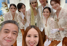 Wedding Kevin aprilio & Vicy Melanie by STILETTO PAGAR AYU
