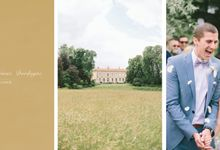 Romantic Chateau wedding in Dordogne, France by M&J Photography