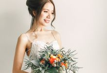 Your real bride in my album by rynee tan make up studio