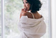 Boudoir wedding by Annabel Law Productions