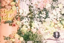 The wedding of Nadia & Nabeel by sugarbox patisserie