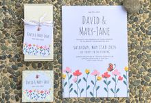 Butterfly Wedding invitation by Gift Elements