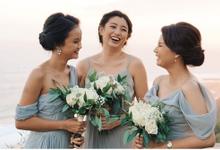 Bridesmaid - Stephanie and Martin Wedding by sunday_debalimakeup