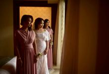 Bridesmaid - Anna and Frendy Wedding by sunday_debalimakeup