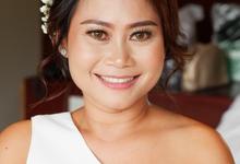 Bridesmaid - Alex & Dinda Wedding by sunday_debalimakeup