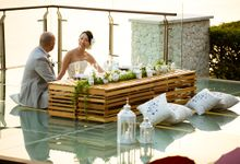 Newly Built Facilities, The Glass Stage and Wooden Lounge Deck by Tirtha Bridal