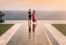 Couple in stay by The Surga Villa Estate