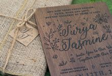 Wedding Invitation - Woody by Kanoo Paper & Gift