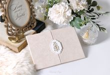 FOR ALL ETERNITY by BloomingDays Invitation Studio