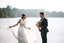 Sham and Kareen Pre Wedding Shoot by Susan Beauty Artistry